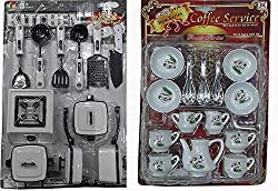 A ONE Toys, Birthday Return Gift Packing - Kids Kitchen Set for Girls with Cup Sets