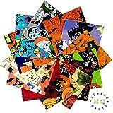 30x Halloween, Patchwork Squares Charm Pack Bundle