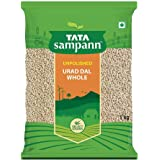 Tata Sampann Unpolished Urad Whole, 1kg