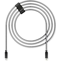 Lioncast pour PS5 4m câble de charge rapide pour Sony PlayStation 5 | Câble de la manette Ps5 pour manette Dualsense…