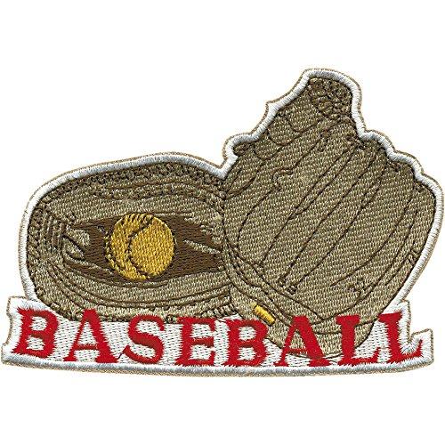 Aufnäher - Baseball - 04492 - Gr. ca. 11 x 7,5 cm - Patches Stick Applikation