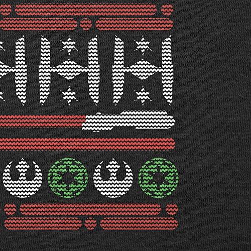 Texlab–Knit Ted Wars–Sacchetto di stoffa Nero
