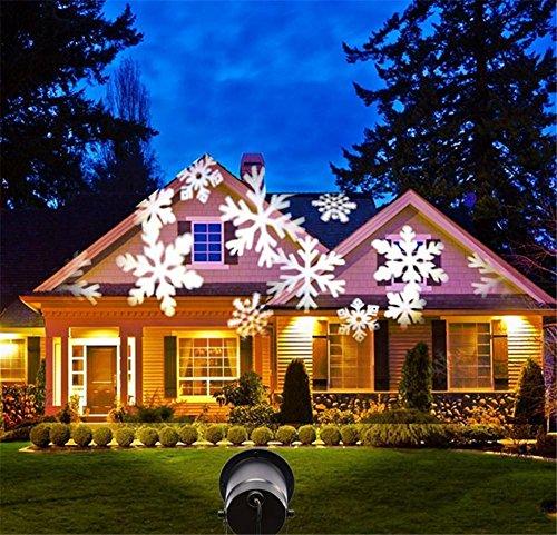 ktor Lights, LED Projector Lights, Indoor Light Projector Scheinwerfer, Garten LED wasserdicht Licht Dekoration Outdoor Garten, Hof, Wand dekorieren (Thanksgiving Hof Dekorationen)