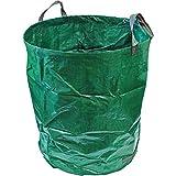 CampTeck 500 Litri Sacchi per Rifiuti da Giardino Robusta Polipropilene Riutilizzabile Borsa da Giardino