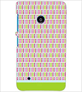 PrintDhaba Mobile Pattern D-1490 Back Case Cover for NOKIA LUMIA 530 (Multi-Coloured)