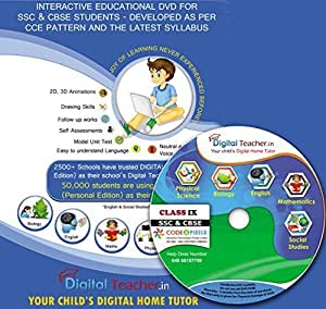 Digital Teacher - Class IX [for SSC (Telugu States) & CBSE Students] CCE pattern - Animated Lessons - 100% Syllabus mapping