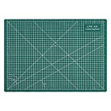 LeaningTech LTC-AX Self Healing A4 Cutting Mat 3-Ply Single Sided Non Slip Green Great for Scrapbooking, Quilting, Sewing and all Arts & Crafts Projects