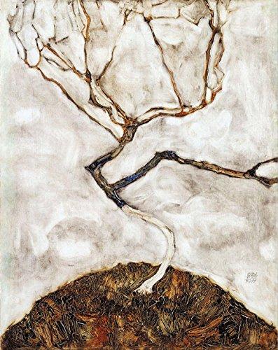 Das Museum Outlet–Egon Schiele–Kleine Baum im späten Herbst–A3Poster