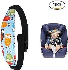URAQT Einstellbare Laufställe Schlaf Stellungsregler Kinderwagen Kinderwagen Kindersitz Befestigung Riemen Kopf Halter