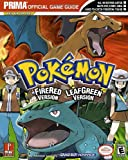 Front cover for the book Pokemon Fire Red & Leaf Green by Eric Mylonas