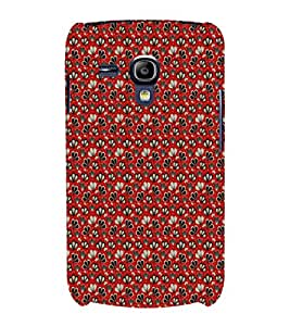 EPICCASE mixed flowers Mobile Back Case Cover For Samsung Galaxy S3 Mini (Designer Case)