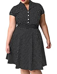 Valin M119918D Robe de bal Vintage pin-up 50's Rockabilly robe de soirée cocktail,S-XXXXL
