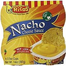 Rico's Nacho Cheese Dip,4 count, 3.5 Ounce