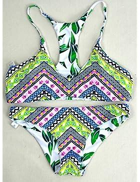 TIANLU Bikini Sexy conjuntos bañador de adelgazamiento trajes de baño de dos piezas dos piezas de moda, patrón...