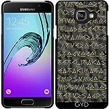 Coque pour Samsung Galaxy A3 2016 (SM-A310) - Texte Viking by hera56