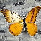 Retro plancha Pipa de agua apliques mariposa agua Tubo decorativa Lámpara de pared pasillo metal pared revestimiento para dormitorio/restaurante/Pasillo/Bar/Cafe 110* 850* 470(mm)