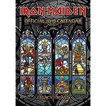 Iron Maiden Official 2019 Calendar - A3 Wall Calendar Format
