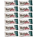Protéines Roobar Chia & spiruline 60g x12 (12-pack) raw bar avec Superfoods (organique, cru, végétalien, sans...