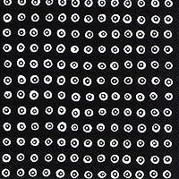 Karakola nero bianco pois cerchi Marimekko Luncheon tovaglioli di carta da tavola da 20pezzi a 33cm quadrati