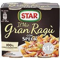 Set 12 STAR Soßesoße Gran Speck 180X2 Verband Für Pasta preisvergleich bei billige-tabletten.eu