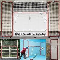 ezgoal Hockey Rücklaufsperre, rot/weiß