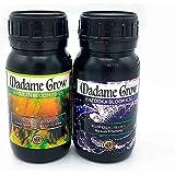 MADAME GROW Fertilizantes de Cannabis Floración - Kit de Flores - (2x250mL)