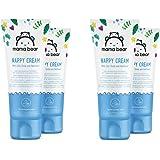 Marchio Amazon- Mama Bear - Crema per il cambio pannolino del bebè con ossido di zinco e pantenolo- 4 tubetti - 4x150ml