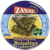 Zanae Weinblätter mit Reis, in Öl, 3er Pack (3 x 200 g Packung)