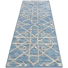 Amazon Fr Tapis Oriental Bleu