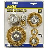 Set accesorios para tornos KINZO 54679 (30 - 37 - 48 - 55 - 73 - 95 mm) mws2089