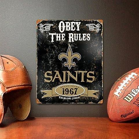 New Orleans Saints 11.5 x 14.5 Obey