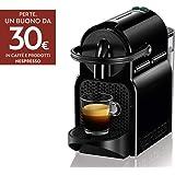 De'Longhi Nespresso Inissia EN80.B Macchina per caffè espresso, a capsule, 1260 W, 1 Tazza, 14 Decibel, 19 bar, Plastica, Ner