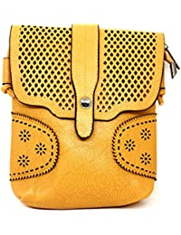 HALO NATION Stylish And Trendy Work Sling Bags (Handbag) For Women's Girl's Blue
