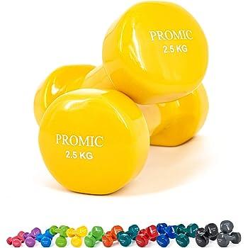 Promic 0,5kg–10kg pesas de