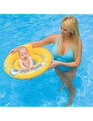 Bebé nadar anillo bebé sentado anillo BB axila círculo niño tamaño doble agua flotante anillo jugando agua suministros