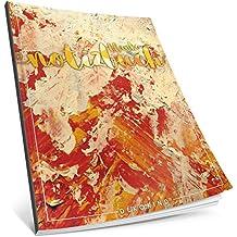 Dékokind® Blanko Notizbuch: Ca. A4-Format • 100 Seiten mit Inhaltsverzeichnis • Perfekt als Zeichenbuch, Skizzenbuch oder Tagebuch • ArtNr. 05 Feuerrot • Softcover