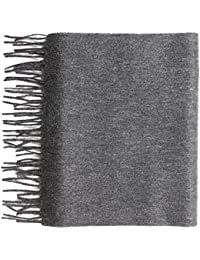 100% Pure Cashmere Plain Scarf by Lona Scott
