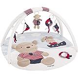 Fehn 3-D-Activity-deken/speelboog met afneembaar speelgoed voor baby's en plezier vanaf de geboorte Teddy. Teddy