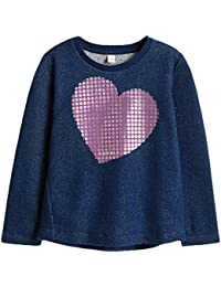 Esprit Kids, Sweat-Shirt Fille, Bleu (Navy Blue 470), 128 (Taille Fabricant: 128/134)
