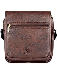 The Clownfish Leatherette Tablet Sling Bag/Messenger Bag/Sling Bag  Unisex Tablet Bag  Cross Body Bag   Messenger...