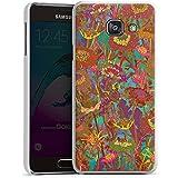 Samsung Galaxy A3 (2016) Housse Étui Protection Coque Prairie Fleurs Fleurs