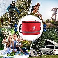Rotes Nylon-auffallendes Kreuz-Symbol High-Density-Ripstop-Sport-kampierendes Hauptmedizinisches Notüberlebens-Erste-Hilfe-Ausrüstungstasche... preisvergleich bei billige-tabletten.eu