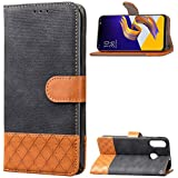 Asus Zenfone 5z ZS620KL Wallet Case, Asus Zenfone 5z ZS620KL Leather Case, Codream Premium PU Leather Girls Folio Stand Bumper Back Case Compatible With Asus Zenfone 5z ZS620KL - Black