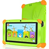 Tablet niños con Wifi 3 GB Ram 32 GO Rom Tablet para niños 7 pulgadas Android-Google Play y control parental, Youtube, Quad C
