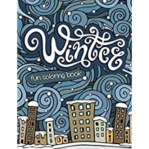 Winter Fun Coloring Book: Coloring Books for Kids