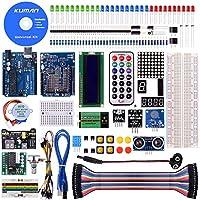 Kuman Projet Super Kit de Démarrage Avec Un Manuel D'utilisation Français Pour Arduino UNO R3 Mega2560 Mega328 Nano K4
