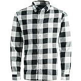 Jack & Jones Jjegingham Twill Shirt L/S Noos Camisa para Hombre