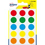 Avery España PSA19MX - Pack de 90 gomets, multicolor