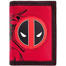 Cartera de Marvel Deadpool La lucha contra Carácter con el logotipo rojo