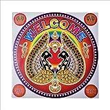 GenNxt Trends 2 Pcs Diwali Special Rangoli Pattern Floor Stickers- Waterproof (2 Pc)